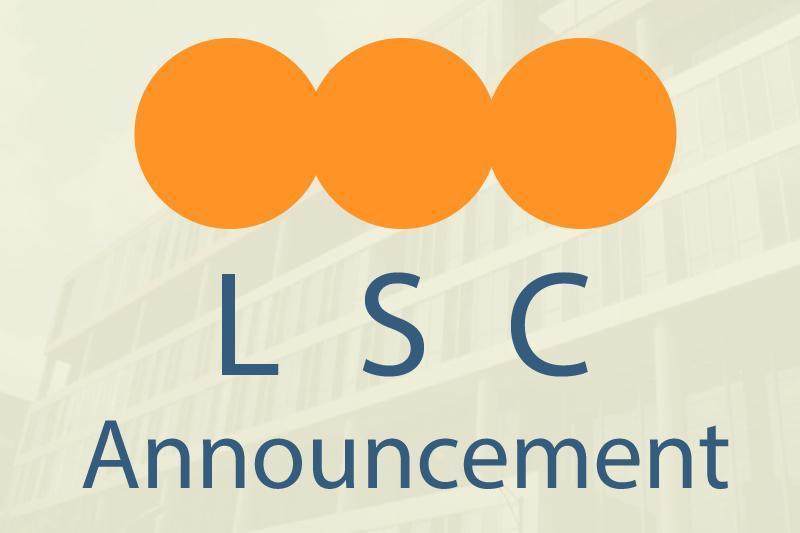 News LSC Announcement