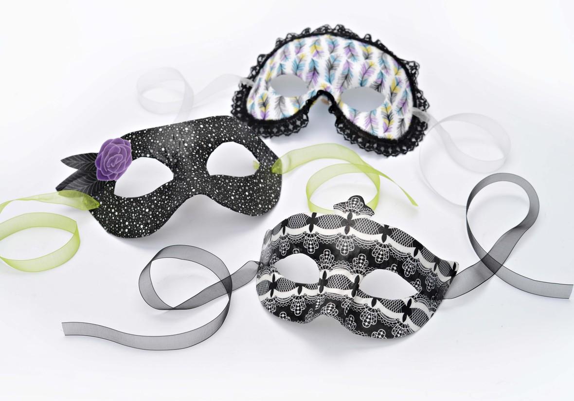 Masquerade Fabric Masks
