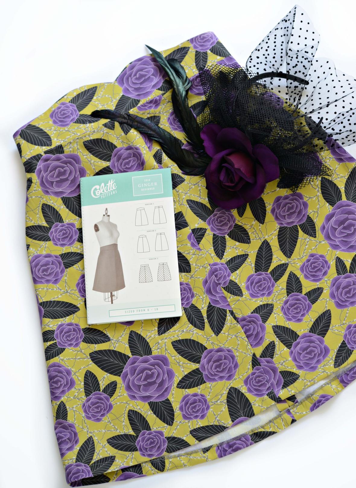 Masquerade Fabric Colette Ginger Skirt
