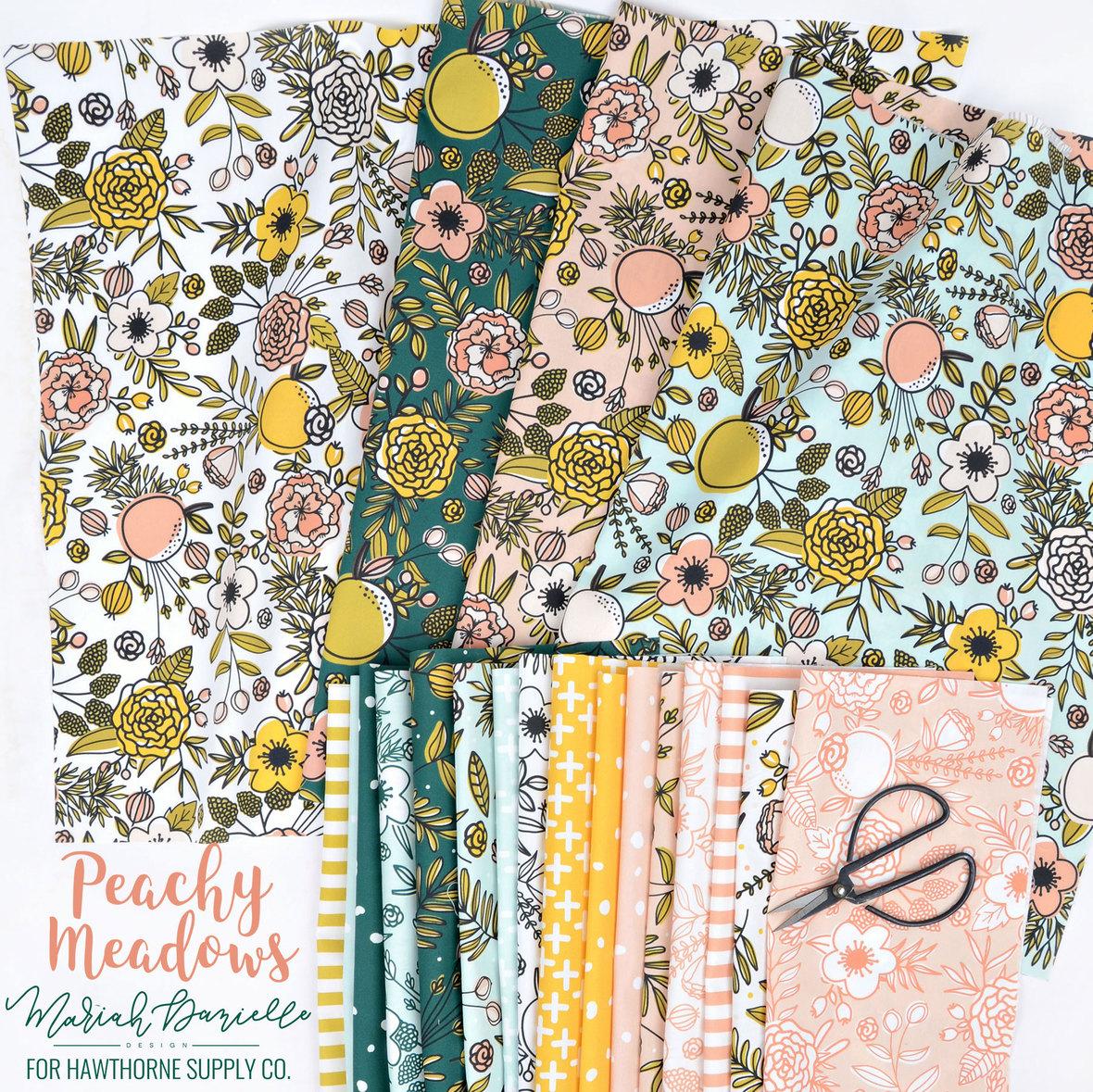 Peachy-Meadows-Fabric-Maria-Danielle-Design-for-Hawthorne-Supply-Co