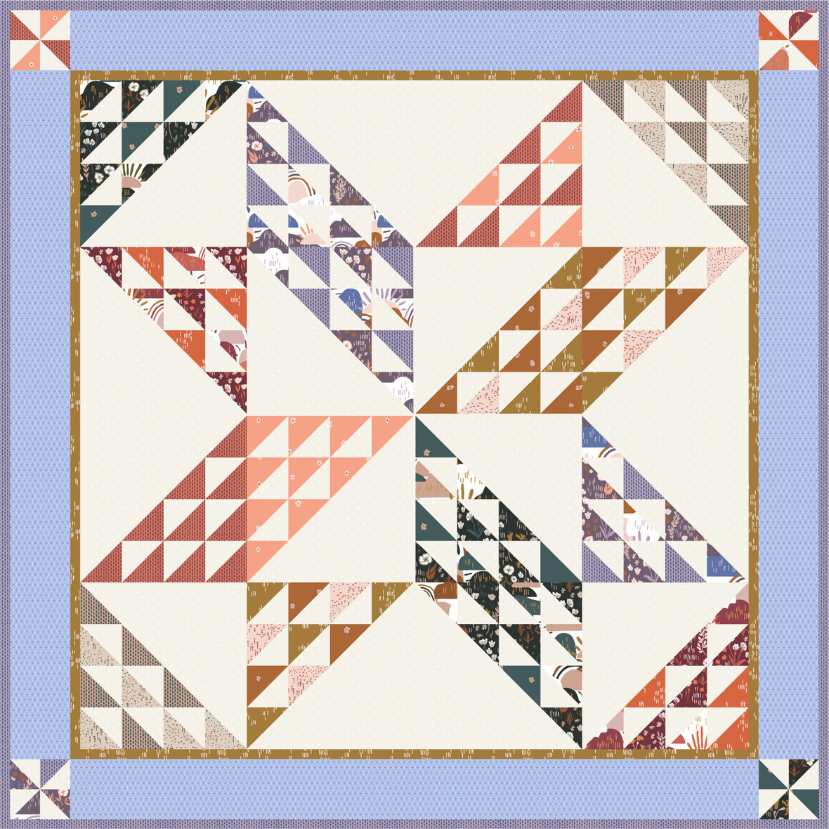 Amy Smart Sugarhouse Star Quilt