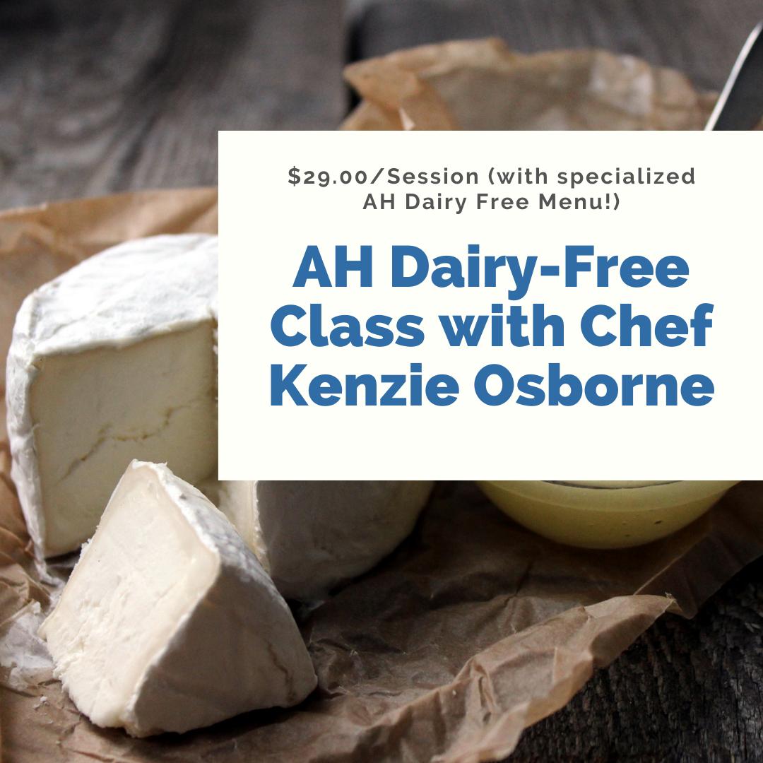 Kenzie Classes - Dairy Free