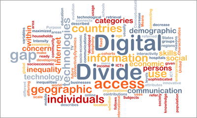 blog digital divide