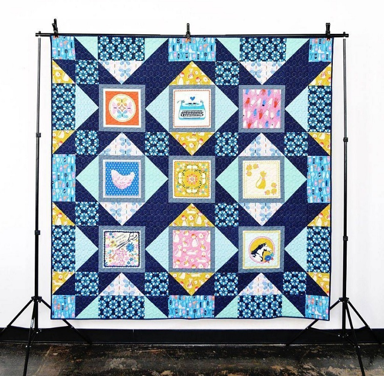 palm house quilt