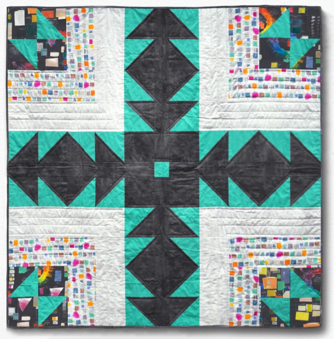 Patchwork and Poodles Bearpath Quilt