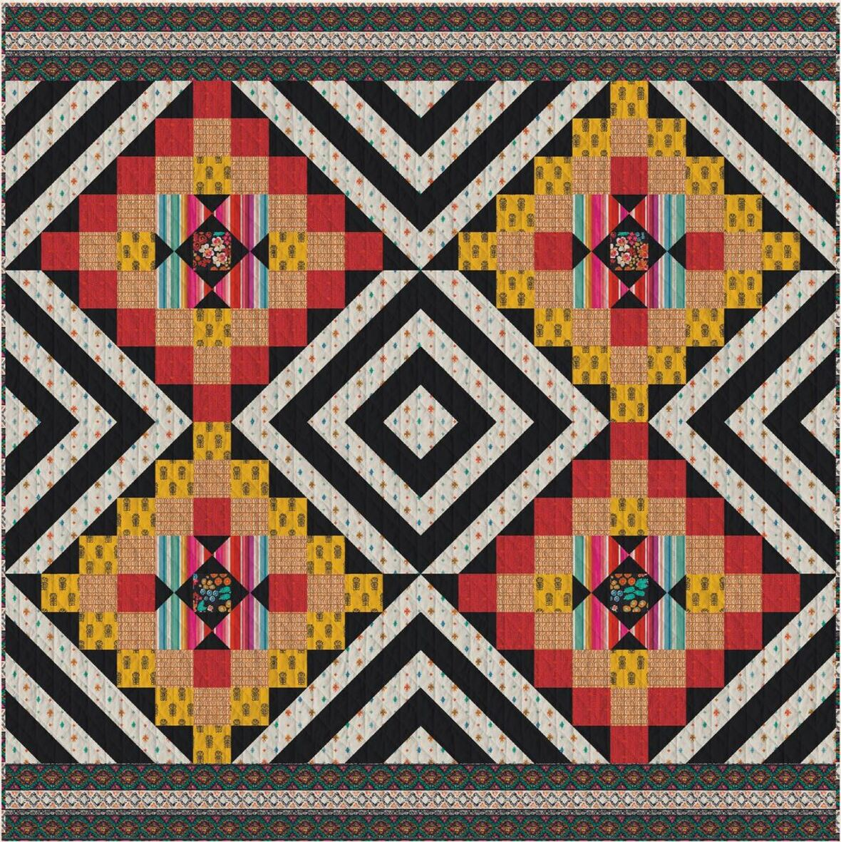 Andina Free Quilt Pattern