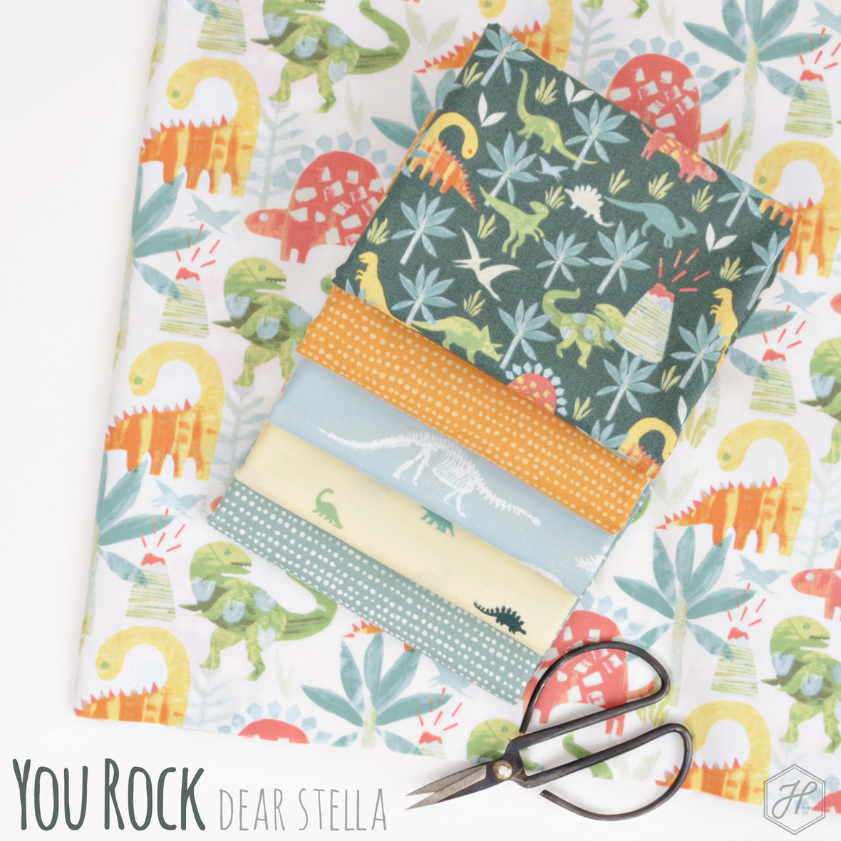 You Rock fabric collection from Dear Stella at Hawthorne Supply Co