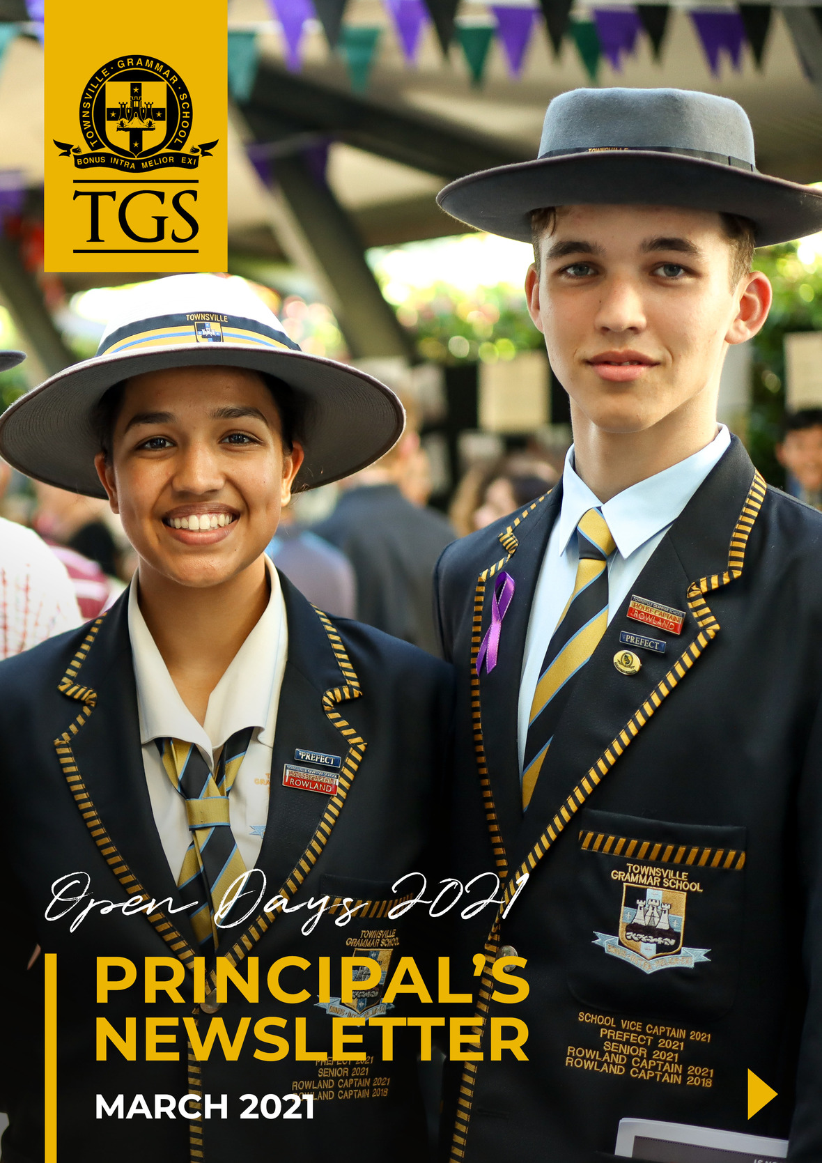Principal s Newsletter - March cover
