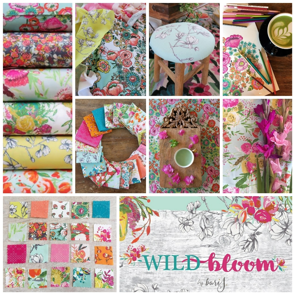 Wild Bloom Fabric Poster Bari J