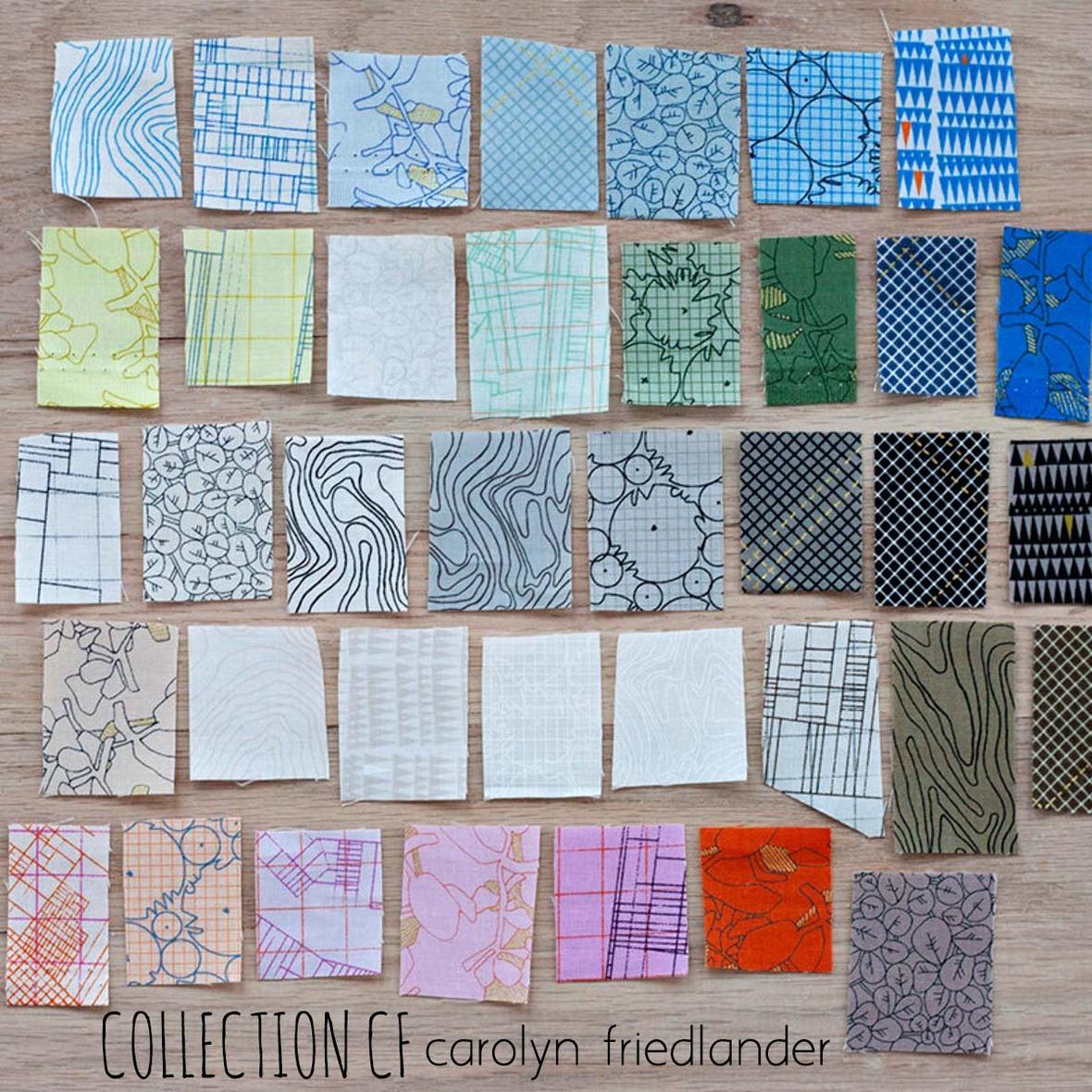 Carolyn Friedlander CF Fabric at Hawthorne Supply Co