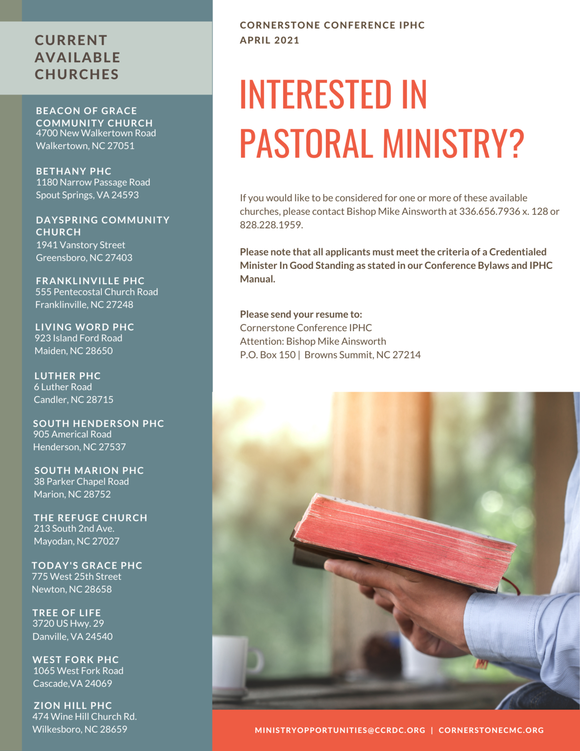 April 2021 CCRDC Ministry Opportunities-2