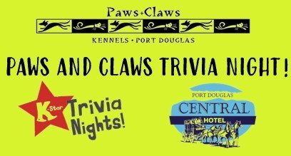 paws and claws trivia night
