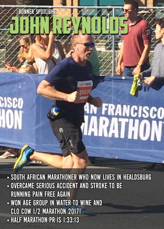 Runner Spotlight John Reynolds