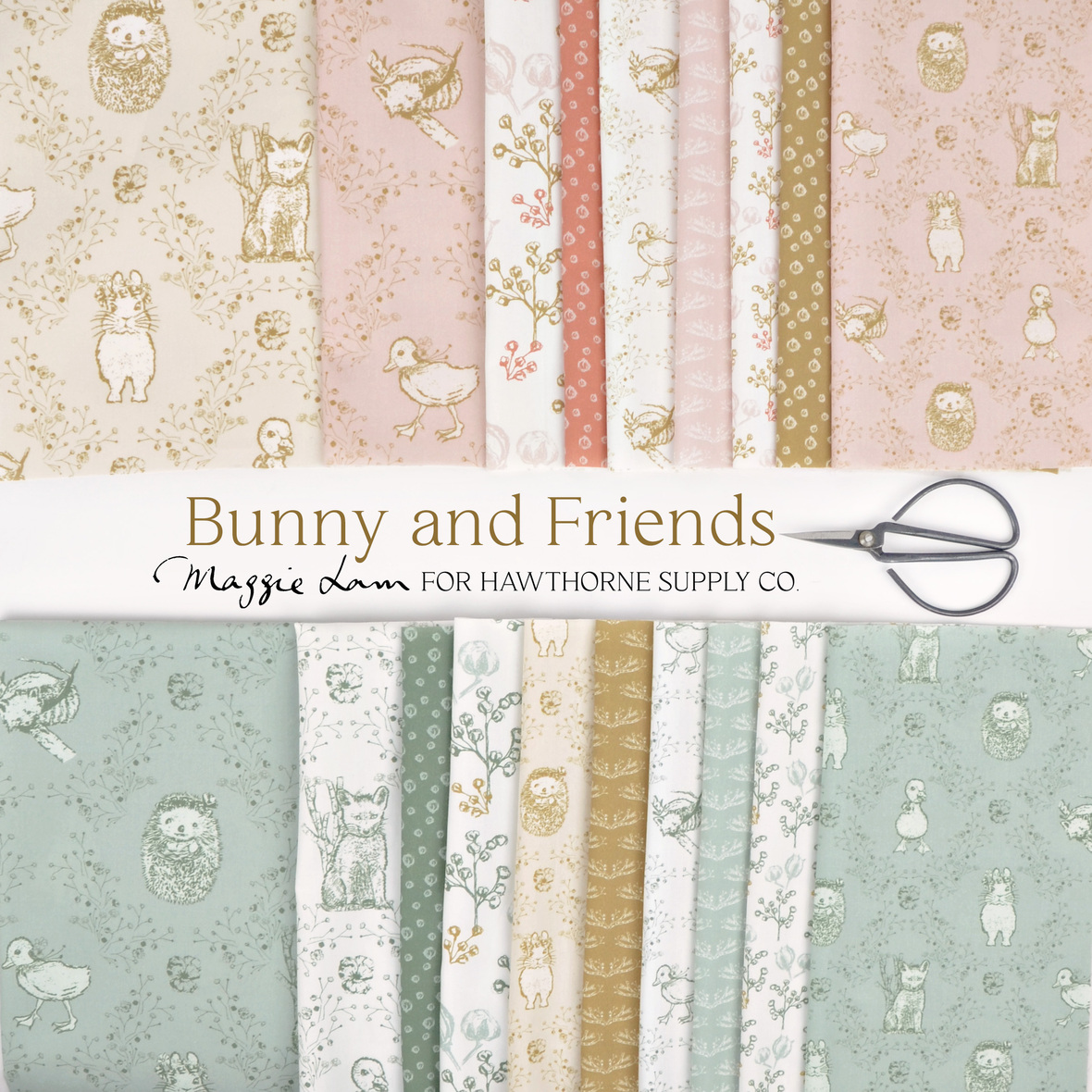 Bunny-and-Friends-Maggie-Lam-fabric-for-Hawthorne-Supply-Co