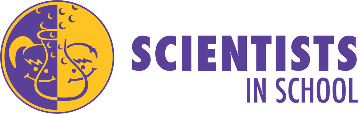 Logo Sci in School RGB purple words - Digital