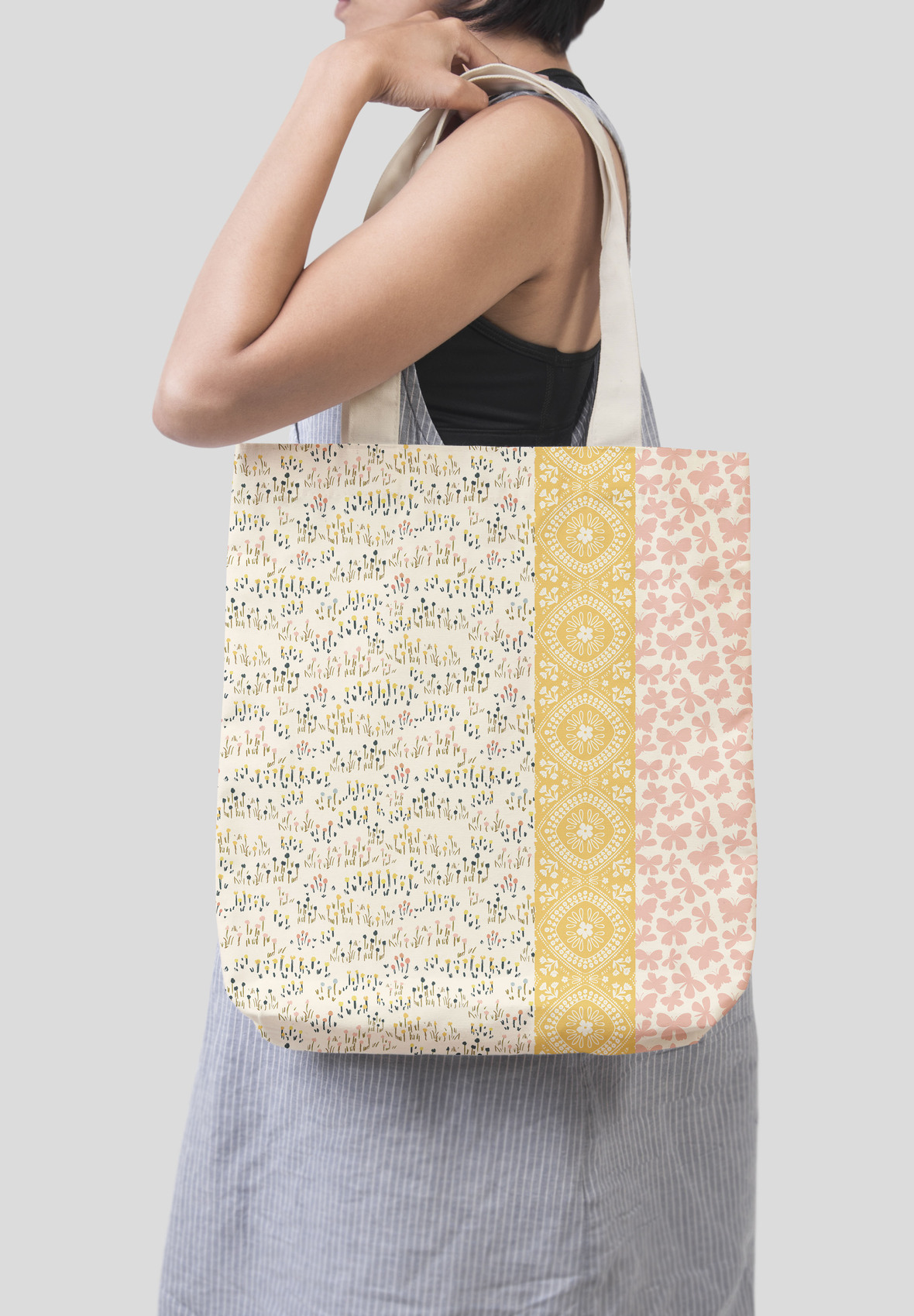Blissful Blooms Tote Bag