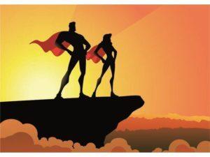 Superheroes popup-300x225
