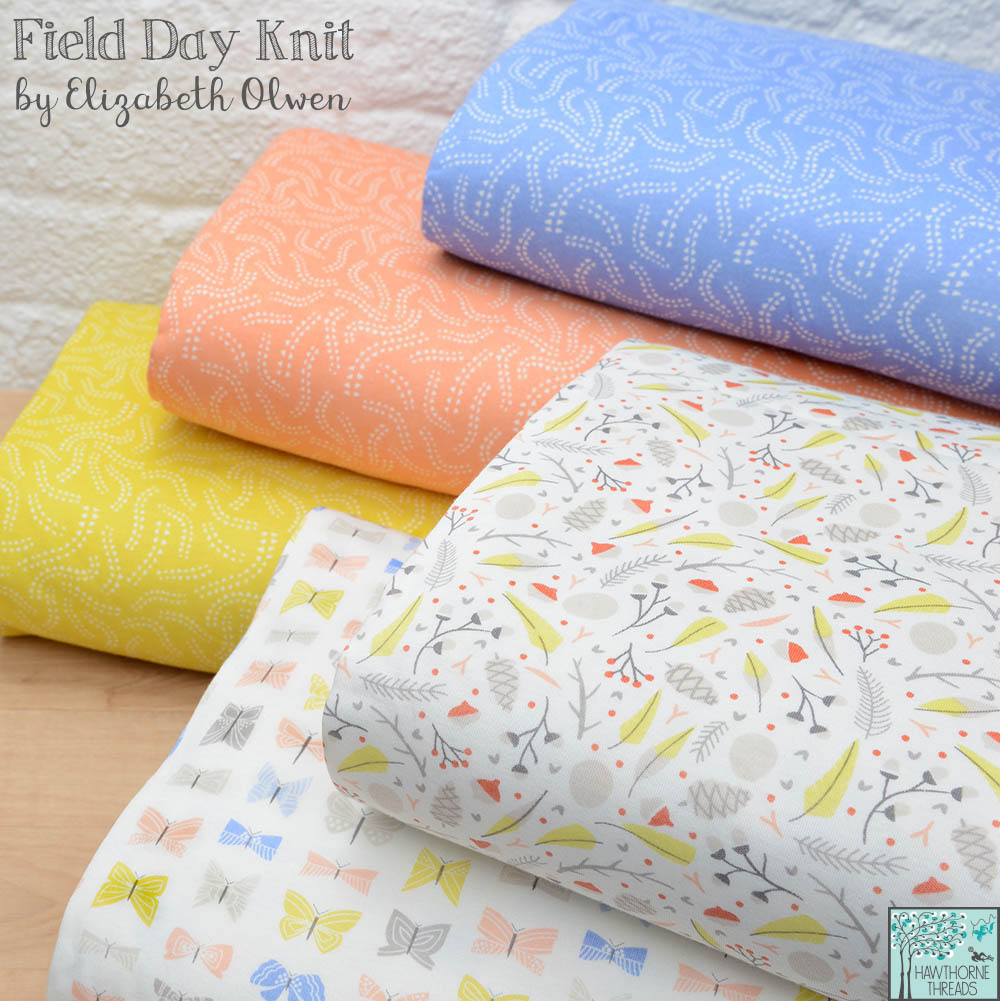 Field Day Knit Fabric poster