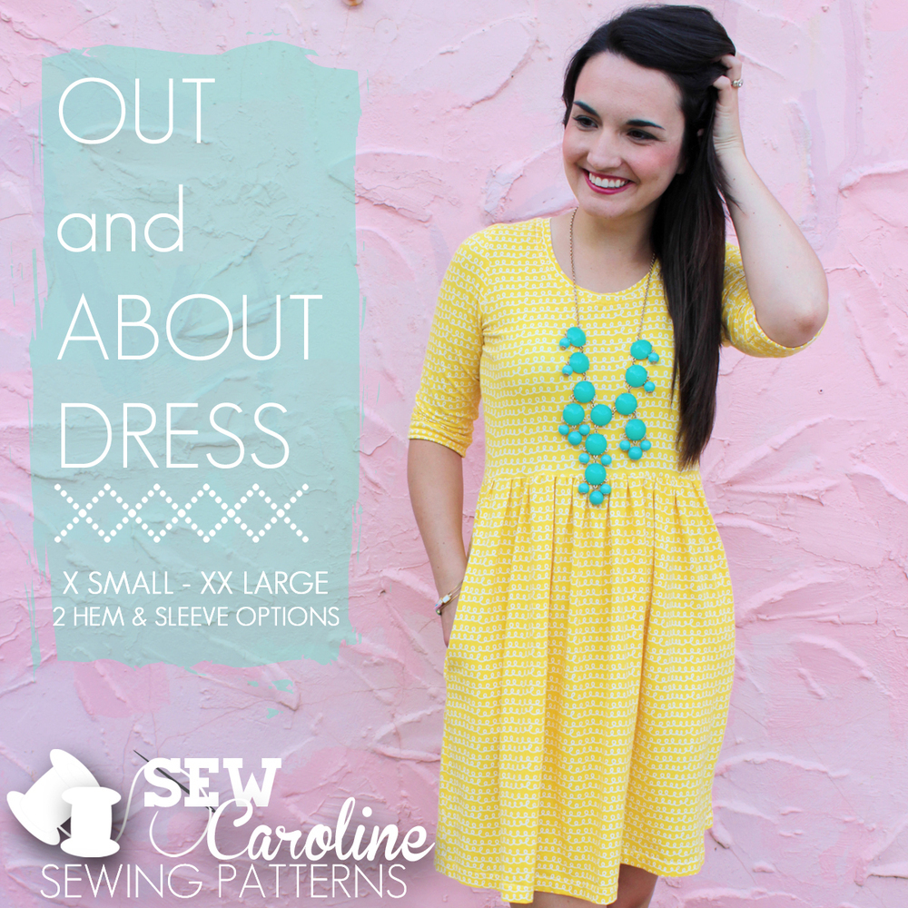 sew caroline out and about dress sewing pattern