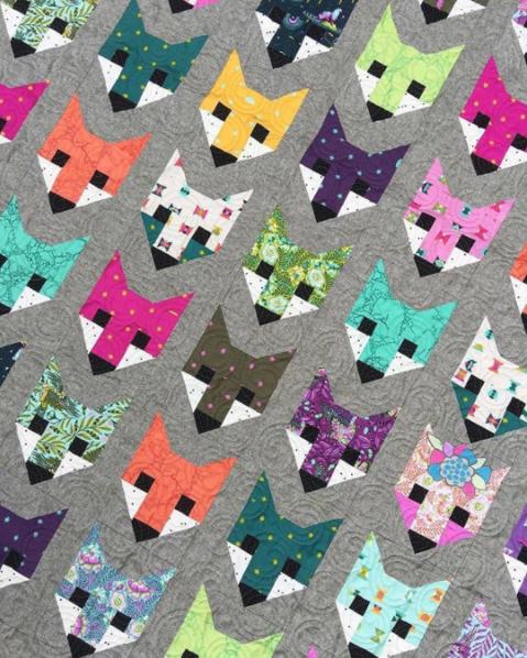 talulahs tree house fox quilt