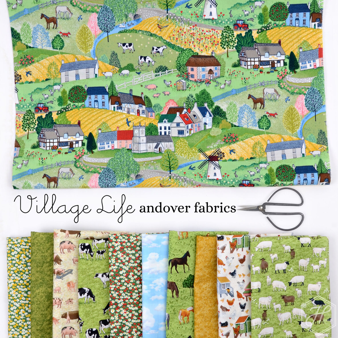 Village-Life-Fabric-Poster-Andover-at-Hawthorne-Supply-Co