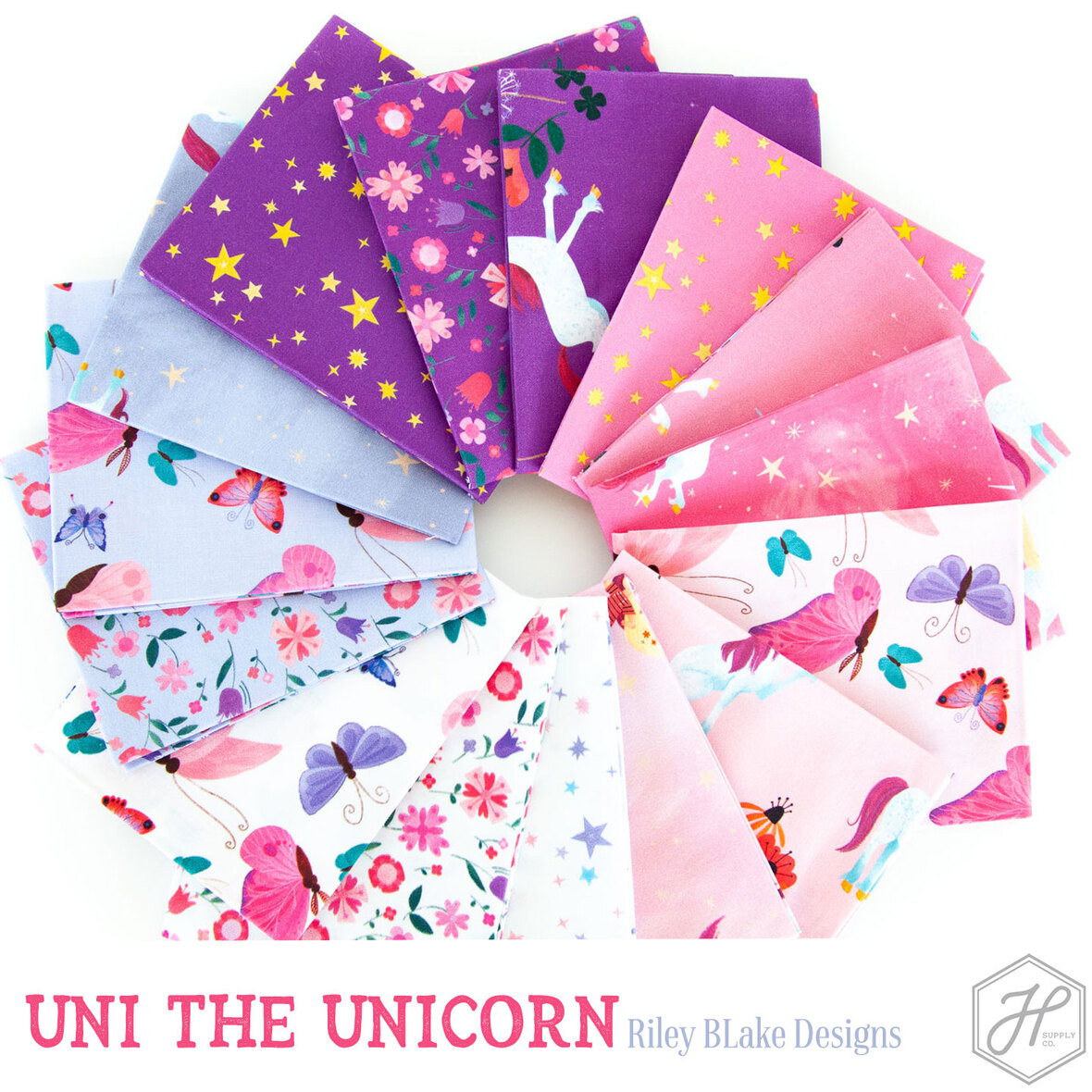 Uni-the-Unicorn-fabric-from-Riley-Blake-at-Hawthorne-Supply-Co.