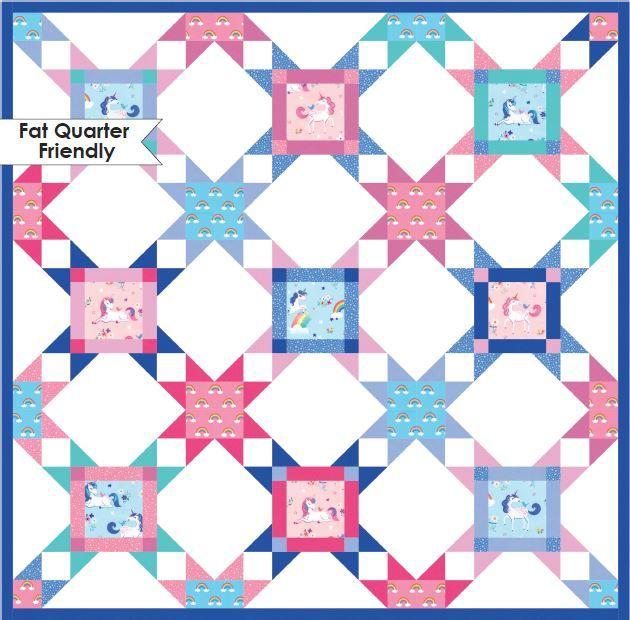 robert kaufman- star party pattern