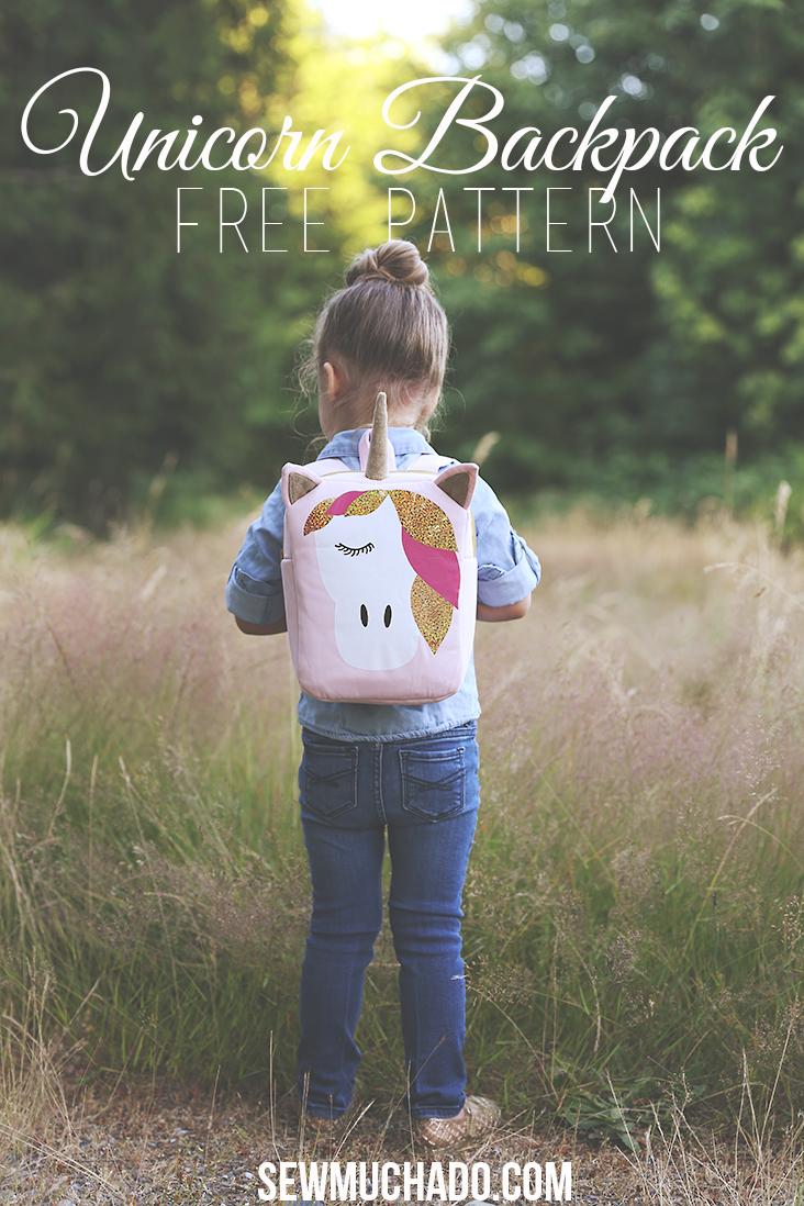 Sewmuchado-free back pack pattern