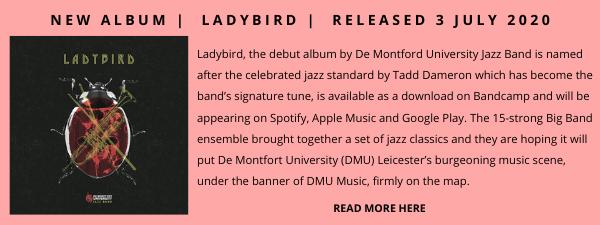 DeMontford Uni Jazz band Jazz Album Showcase Spring 2021