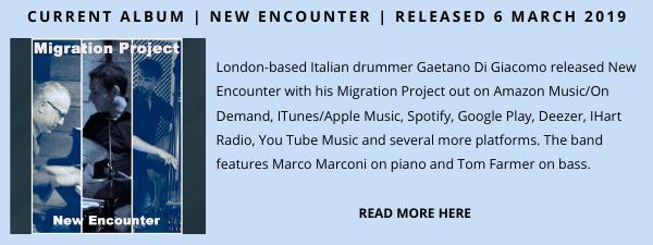 Gaetano diGiacomo Jazz Album Showcase 3