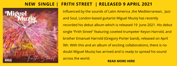 Miguel Jazz Album Showcase 3