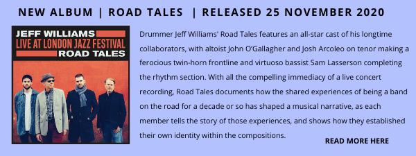 Jeff Williams Album Showcase E-Blast