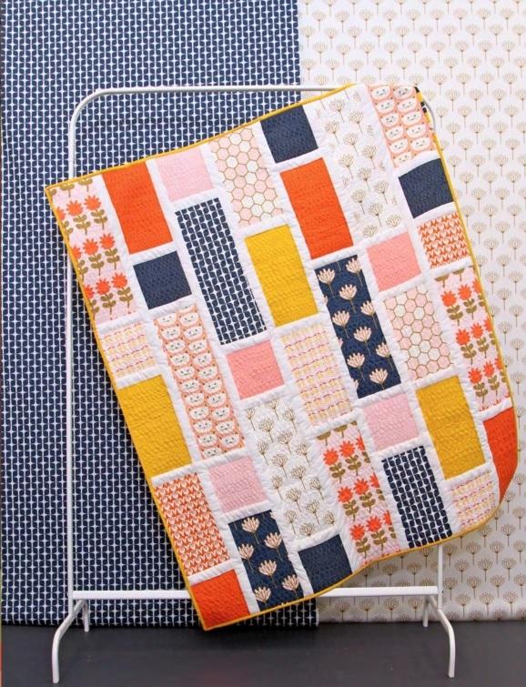 Blush Fabric Quilt Kit
