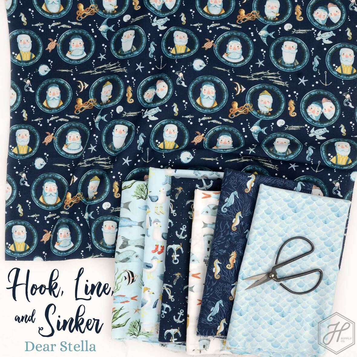 Hook-Line-and-Sinker-Fabric-Nautical-Dear-Stella-at-Hawthorne-Supply-Co