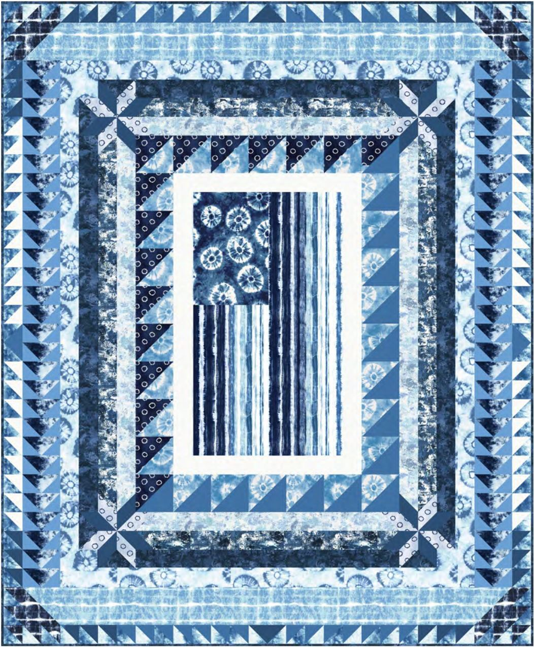American Blues Quilt