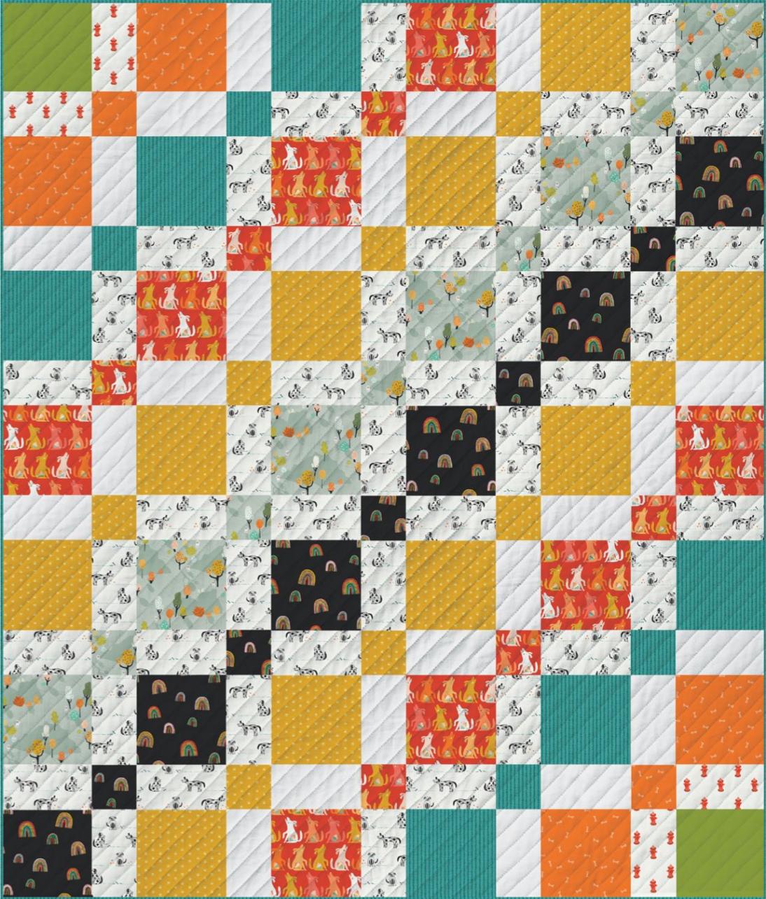 Doggo Free Quilt Pattern