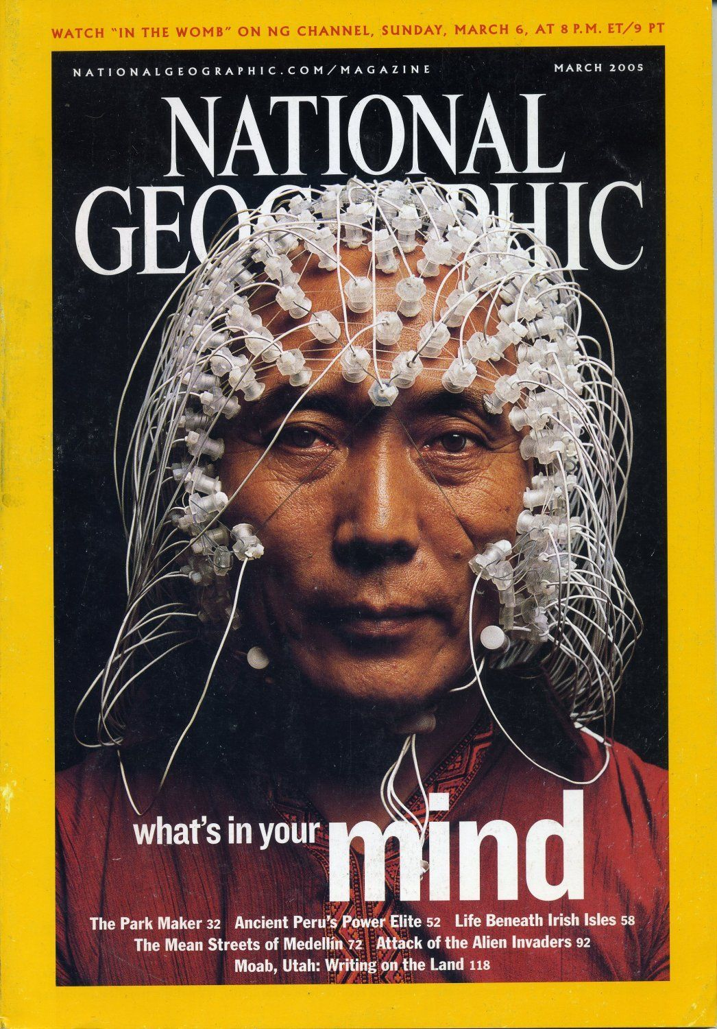 NATIONAL GEOGRAPHIC MONK