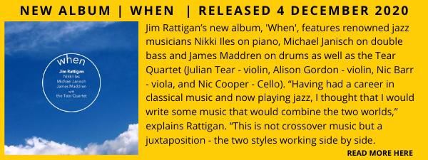Jim Rattigan Album Showcase April 2021