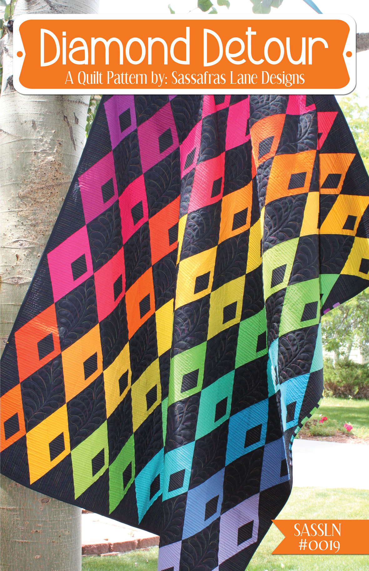 sassafras lane designs diamond detour sewing pattern