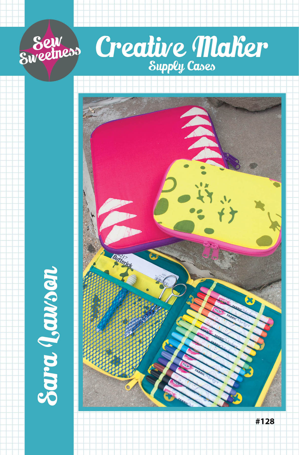 sew sweetness  creative maker supply cases sewing pattern