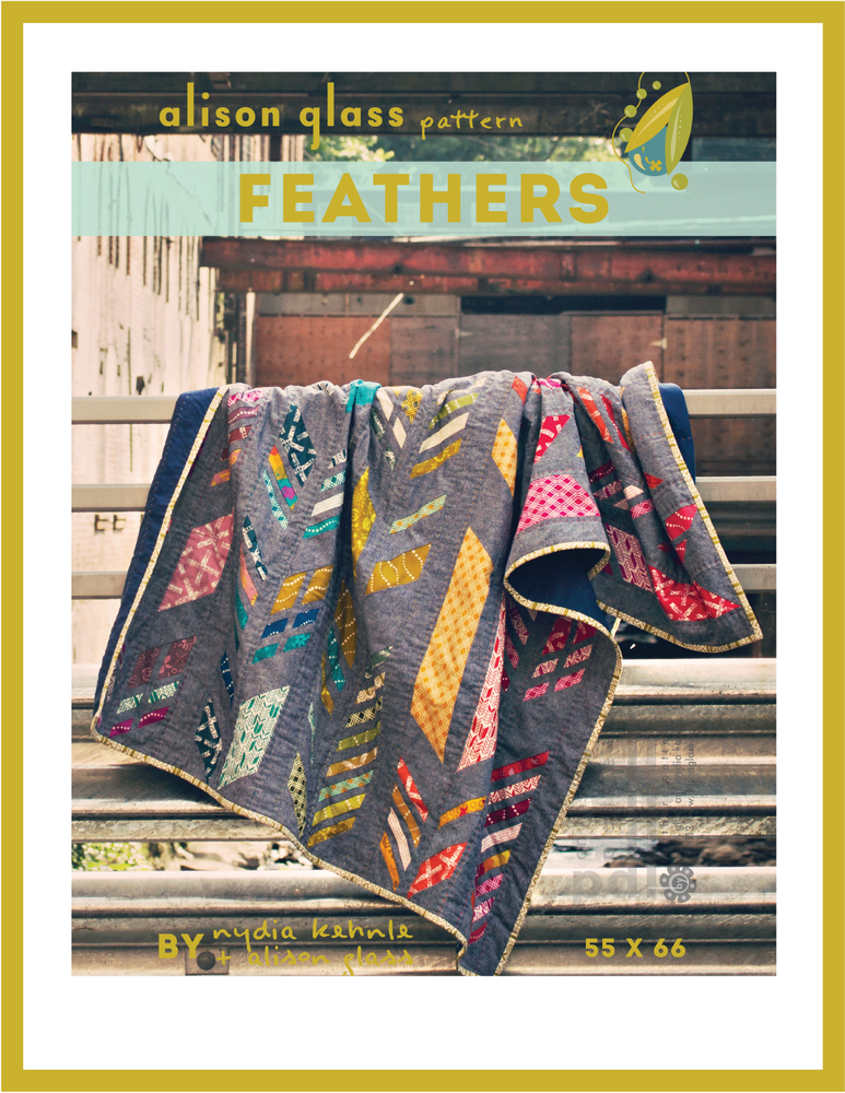 alison glass feathers sewing pattern