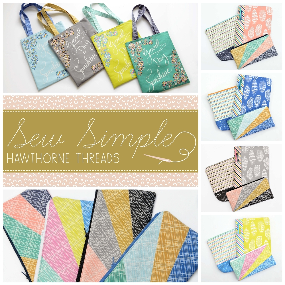 Sew Simple Fabric Poster