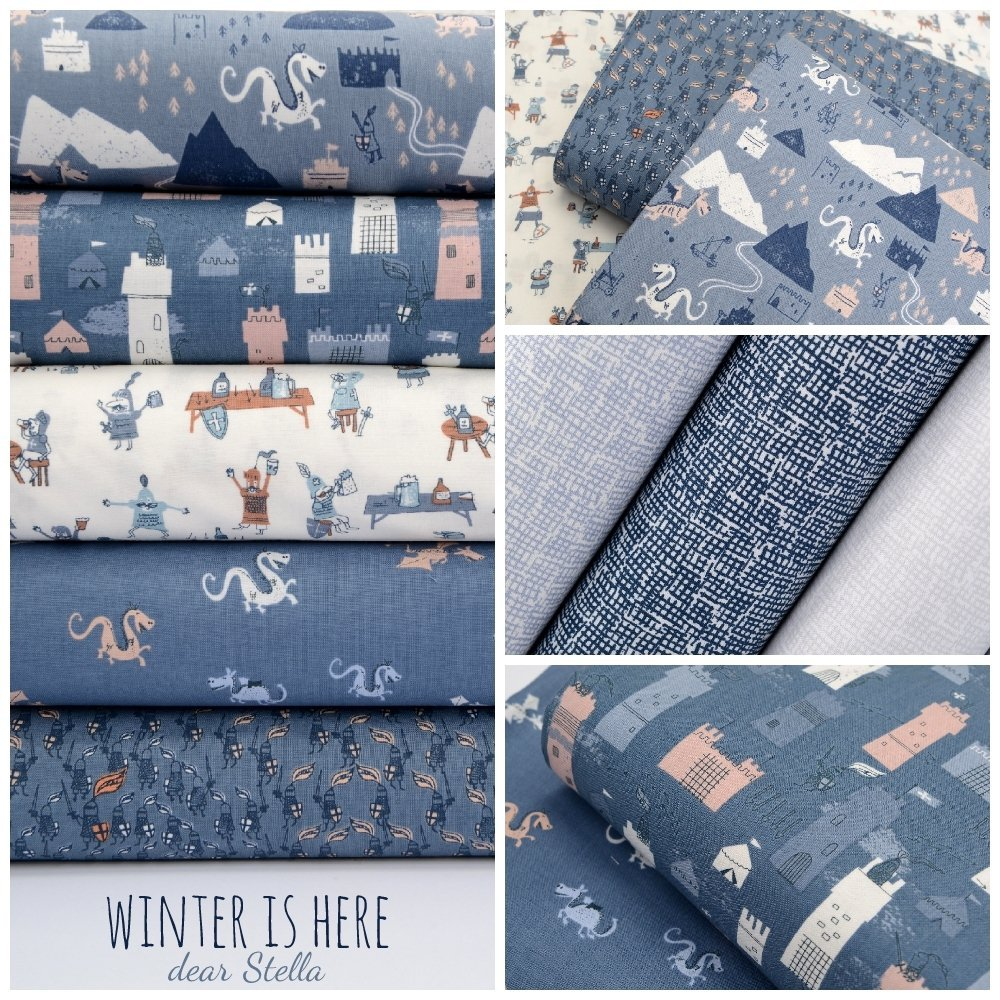 Winter is Here fabric