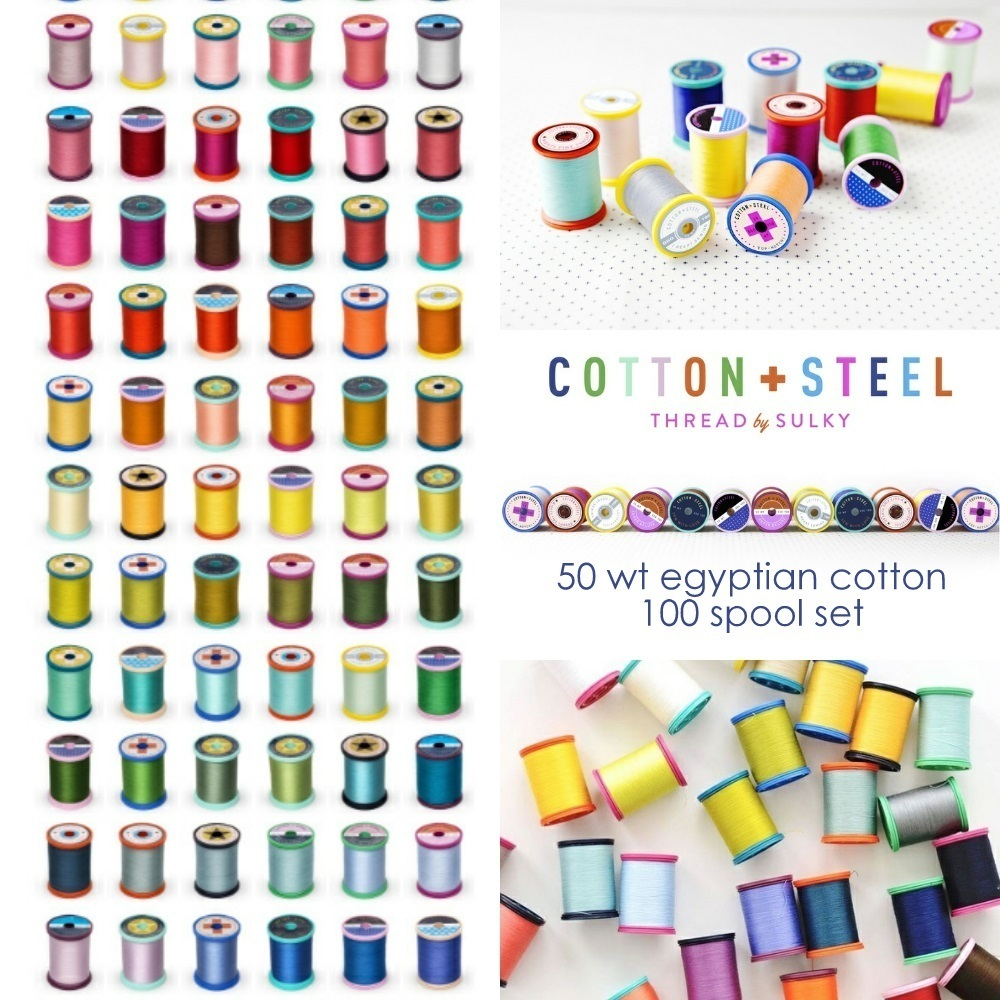 Cotton and Steel Sulky Thread Set