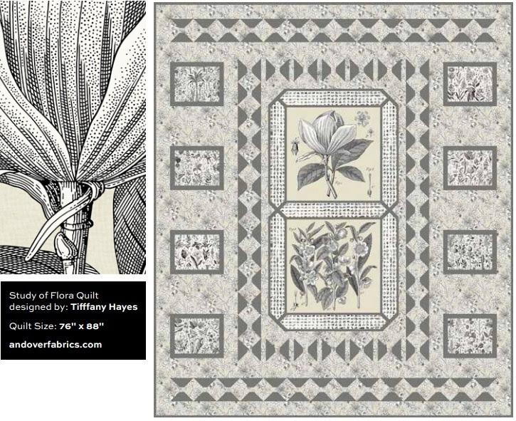 Terrestria Quilt Pattern