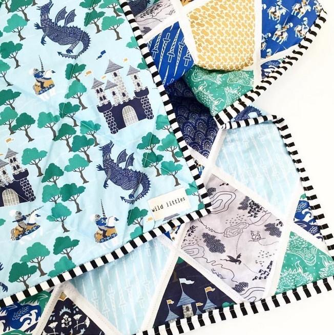 Wild Littles Brave quilt