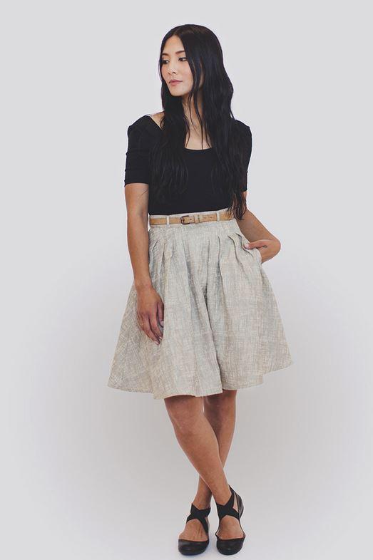 collette patterns- zinnia skirt