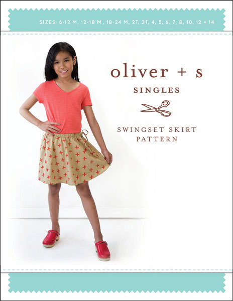 oliver and s  swingset skirt sewing pattern