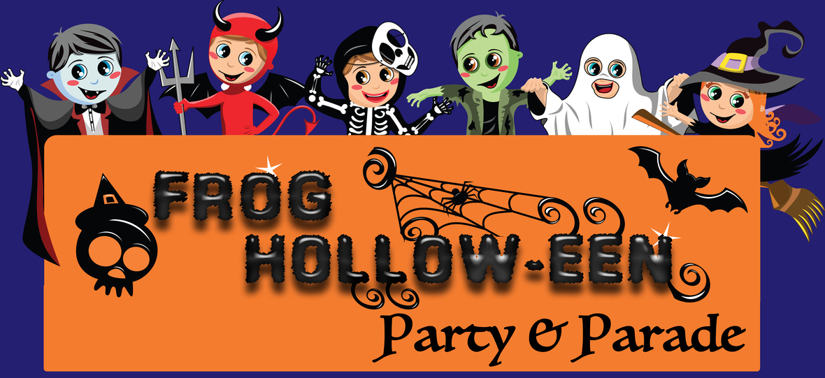 Frog Hollow-een Party and Parade
