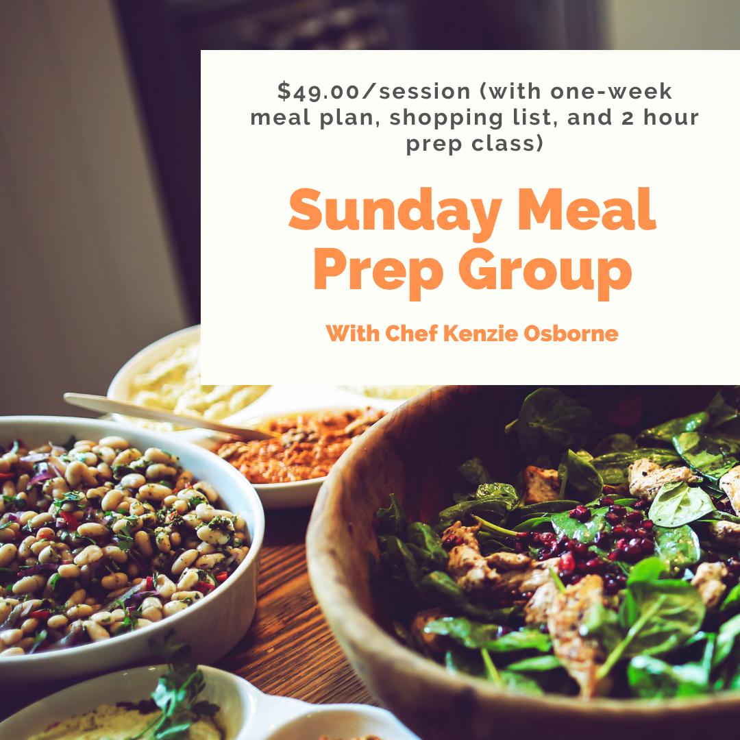 Sunday Meal Prep Group